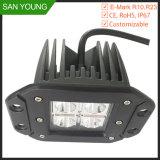 Rincer le Cube 12V 24V FEU DE TRAVAIL À LED pour les voitures d'E-étanches IP67 Marquer