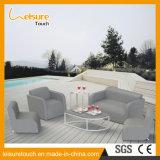 Neues Entwurfs-preiswertes im Freienaufenthaltsraum-Rattan-Patio Single&Double Sofa-gesetztes Hotel/Hausgarten-Möbel