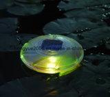 Lumière de flottement solaire solaire de lumière de flottement de vente chaude pour la natation décorative