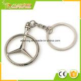 La venta al por mayor personalizó los fabricantes hechos insignia de encargo Keychain de la marca de fábrica del coche del metal a granel al por mayor barato de la manera para el Benz