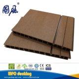 防水Decoraticeの木製のプラスチック合成物WPCの壁のクラッディングパネル21*325mm
