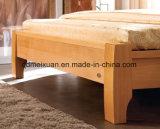 Camas matrimoniales modernas de la base de madera sólida (M-X2301)