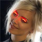 党HalloweenクラブのためのLEDのまつげは3D擬似まつげを防水する