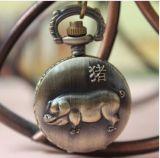 Doce Zodíaco chino de Material de aleación de relojes Relojes de cuarzo para hombres
