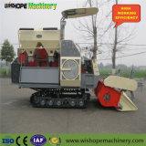 Wishope 4lz-4.0zの販売のための小さい穀物タンクコンバイン収穫機
