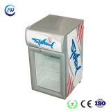 LED-helle kleine aufrechte kundenspezifische Kompressor-Tabletop Bildschirmanzeige-Gefriermaschine (JGA-SC20)