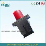 De optische Hybride Adapter van de Vezel voor de Plastic Optische Sluiting van de Vezel FC/Sc/St/LC/DIN Matel