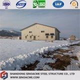 Sinoacmeは軽い鉄骨フレームの研修会の建物を組立て式に作った