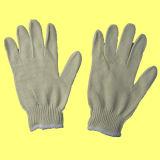 специальная перчатка работы Knit шнура пряжи 10g (хлопок 80%)