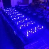 Im Freien 72X3w RGBW DMX LED Wand-Wäsche-Licht