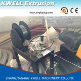 PVC/PE/PP escogen la cadena de producción del tubo/la máquina acanaladas pared doble de la protuberancia