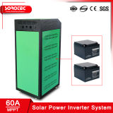 eingebautes Sonnenenergie-Inverter-System der Batterie-1kVA mit MPPT Solarladung-Controller