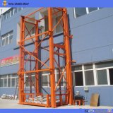 Guide Rail Vertical Top spin Chain Guided Hydraulic Cargo Top spin