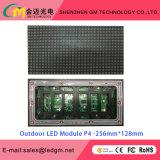 Módulo ao ar livre do diodo emissor de luz do preço de grosso P4, 256*128mm, USD26.8