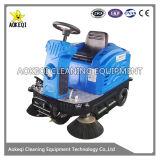 産業電池式の床の掃除人機械床のクリーニング装置