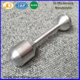Pezzo meccanico lavorante di CNC di precisione di alluminio di abitudine