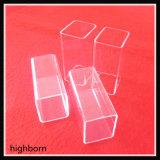 Aislante de tubo ULTRAVIOLETA del vidrio de cuarzo del bloque usado para los productos de la iluminación