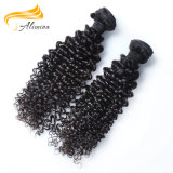 Aucune effusion Curly Indian Remy Virgin Temple poils humain