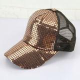 Summer Women Visor Hat Cape High Quality Bling Baseball Cape with Customed Logo