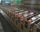 機械を形作る二重層の金属の屋根ふきロール
