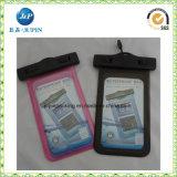 100% de la Junta de teléfono de PVC bolsa impermeable de plástico/Carcasa impermeable (JP-WB018)