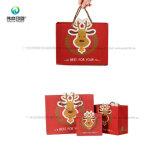 Custom Китая популярные блестящего печать Упаковка Мешки для подарков на Новый год