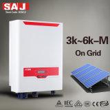 SAJ высокое качество поверхности соединительной тяги инвертора солнечной энергии на 4000 Вт 2 MPPT одна фаза