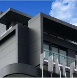 Revêtement décoratif de mur de panneau de PVDF de feuille composée en aluminium extérieure d'ACP