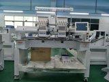 2 Kopf-Schutzkappen-Stickerei-Maschine mit Groz-Haken Nadel