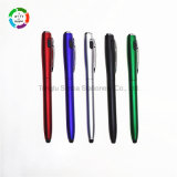 Papeterie en plastique de bureau de crayon lecteur d'aiguille de stylo à bille de lumière neuve du modèle 2017 pour le cadeau promotionnel