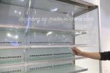 Het commerciële Kabinet van het Gordijn van de Lucht van de Supermarkt voor Vruchten, Melk, Drank, het Plantaardige Koelen