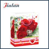 Мешок упаковки подарка конструкции цветков дня Valentine бумажный