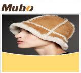 Les chapeaux en fourrure véritable peau de mouton Fashion femmes Hat
