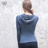T-shirt fait sur commande cultivé Hoodie de vêtements de sport de Hoodie de pull molletonné de dames de Hoodie de 2017 femmes