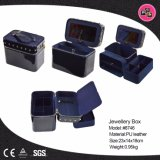 Caixa de cosméticos em couro preto (Taric 8746)