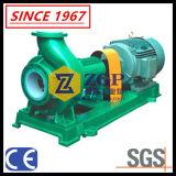 일렬로 세워지는 수평한 불소 플라스틱 제산성 화학 원심 펌프를 일렬로 세우기