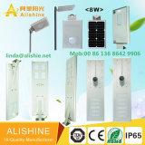 China Fábrica de luz LED vender bem de Rua LED solares com luz LED de chip Bridgelux