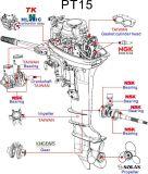 De Uitstekende kwaliteit van de Buitenboordmotoren van Earrow met Ingevoerde Delen van Japan en Taiwan