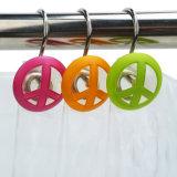 3D colorée volant les crochets de douche avec résine peinte à la main