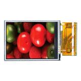 2.4 TFT LCD hohe Helligkeit der Bildschirmanzeige-Auflösung-240*320 mit widerstrebendem Touch Screen