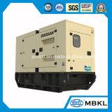 87.5 Ква/70квт Doosan дизельных генераторных установках Silent/звуконепроницаемых типа с навесом