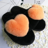 De nieuwe Pantoffels Van uitstekende kwaliteit van het Bont van Faux Snoozies van het Konijn van het Ontwerp
