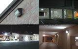실내와 옥외 사용법 IP65는 40W 60W 90W LED 벽 팩 빛을 방수 처리한다
