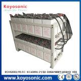 Marcação UL SGS ISO 220 Ah Bateria de gel 12V Ciclo profundo Lipo Bateria de 12V da bateria