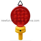 Indicatore luminoso d'avvertimento di rischio della strada di potenza della batteria di traffico con la base del magnete