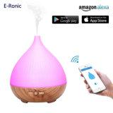 APP van de Stem van e-Ronic Alexa Verspreider van het Aroma van de Essentiële Olie van de Controle de Ultrasone voor Huis, Bureau
