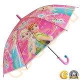 Karton-Drucken-Regen-im Freien gerade Regenschirme der Kinder