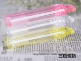 Toothbrush portátil plástico descartável Foldable do curso de Evection