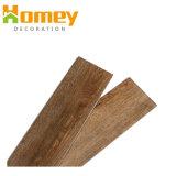 Pavimentazione d'imitazione antisdrucciolevole durevole commerciale del PVC di legno di certificazione dell'Ue