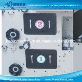 1 Farben-Hhhochhdruck-Kennsatz-Drucken-Maschine mit sterben Cuting Teil